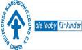 Logo des Kinderschutzbundes zeigt ein Kind, welches ein Dach über dem Kopf hat, soll Sicherheit darstellen.