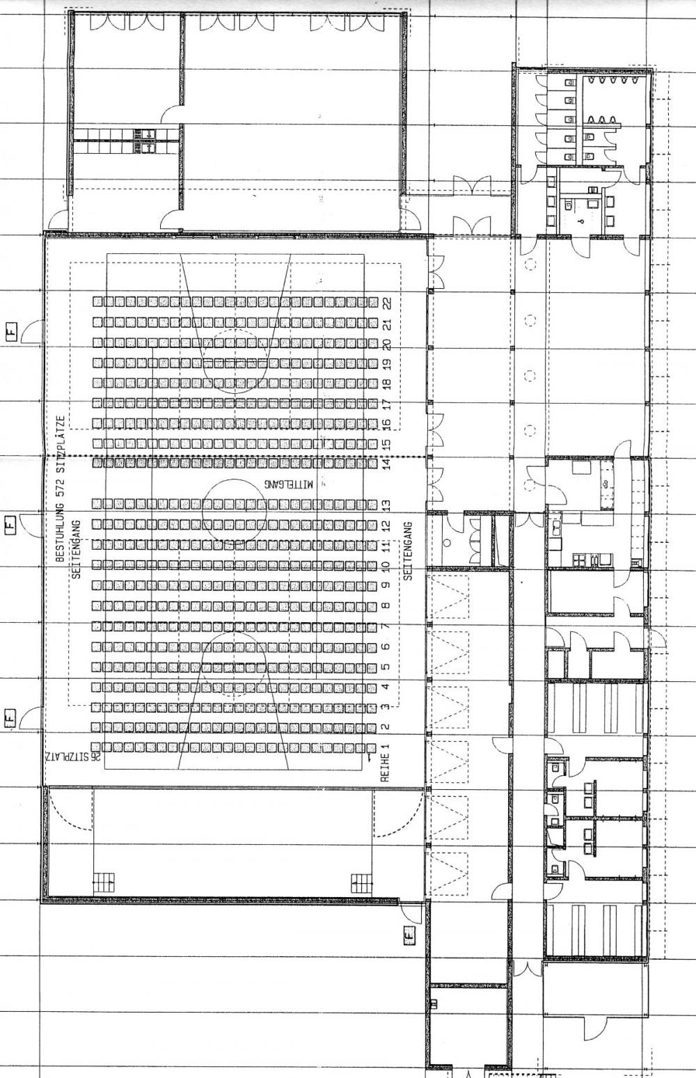 Plan der Römerhalle