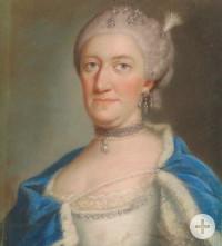 Ein Gemälde der Prinzessin Elisabeth von Baden, die hier in Riegel im Schloss lebte.