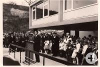 Die Michaelschule wurde 1964 feierlich eingeweiht.